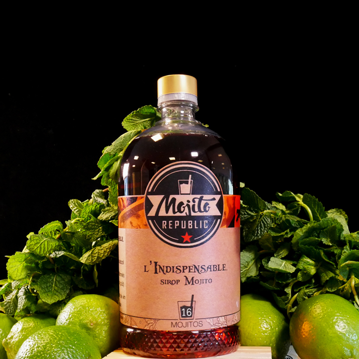 indispensable sirop mojito 50cl