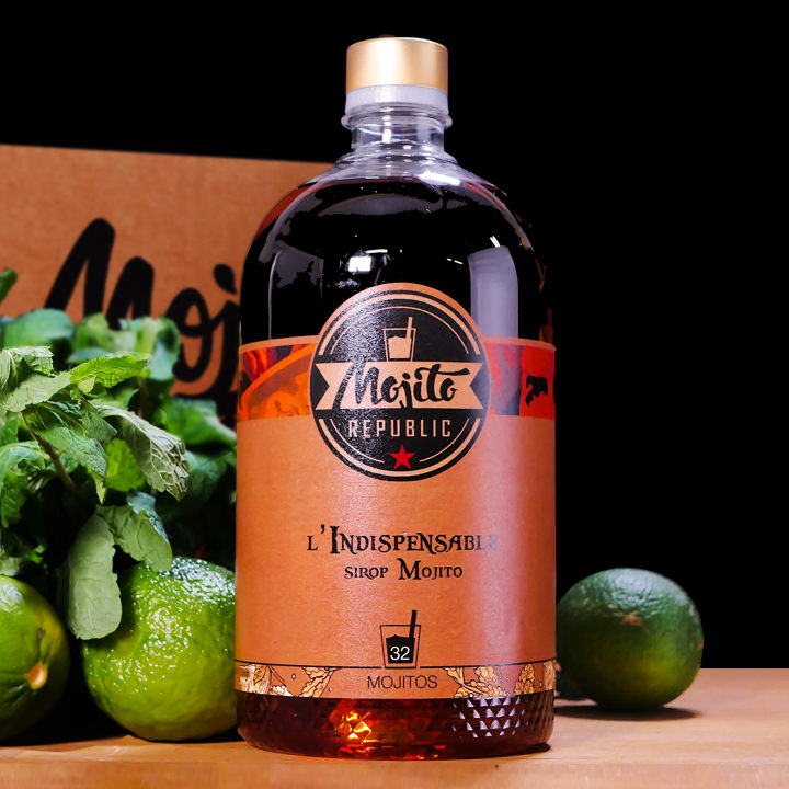 indispensable sirop mojito 6 litres