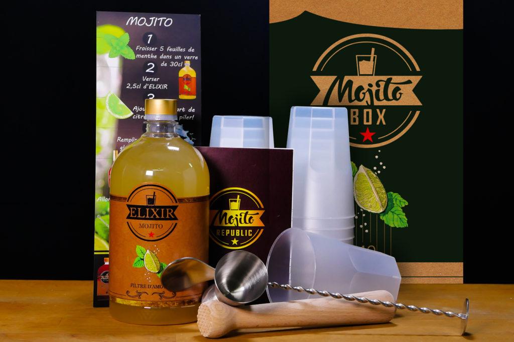 BOX ÉLIXIR 40 MOJITOS